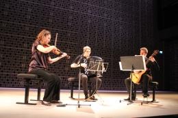 Annemarie Åström, violin & Jonne Grans, guitar performing Microludios by J.M Sánchez-Verdú